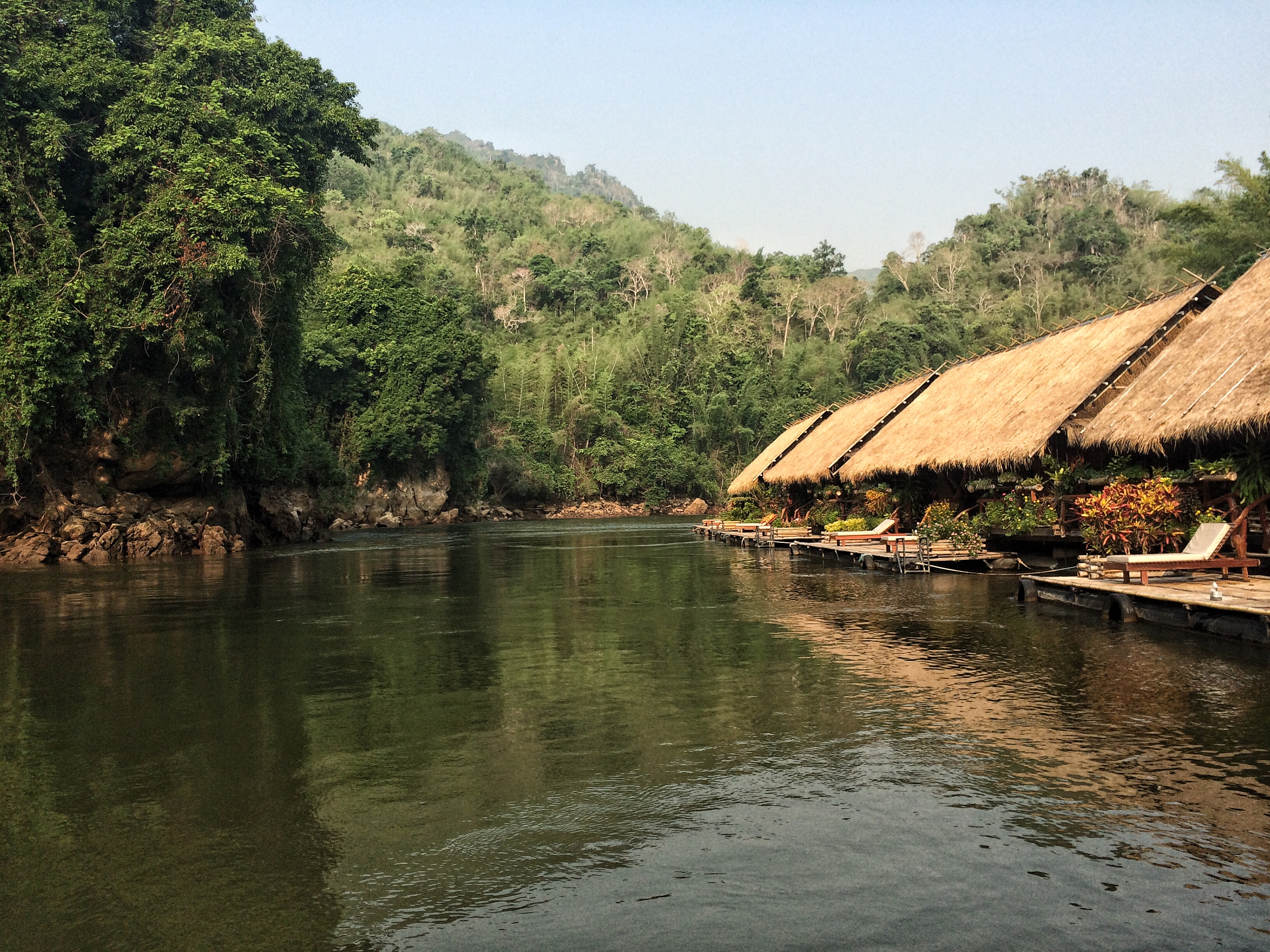 Sai Yok Nationalpark River Kwai Jungle Lodge Thailand