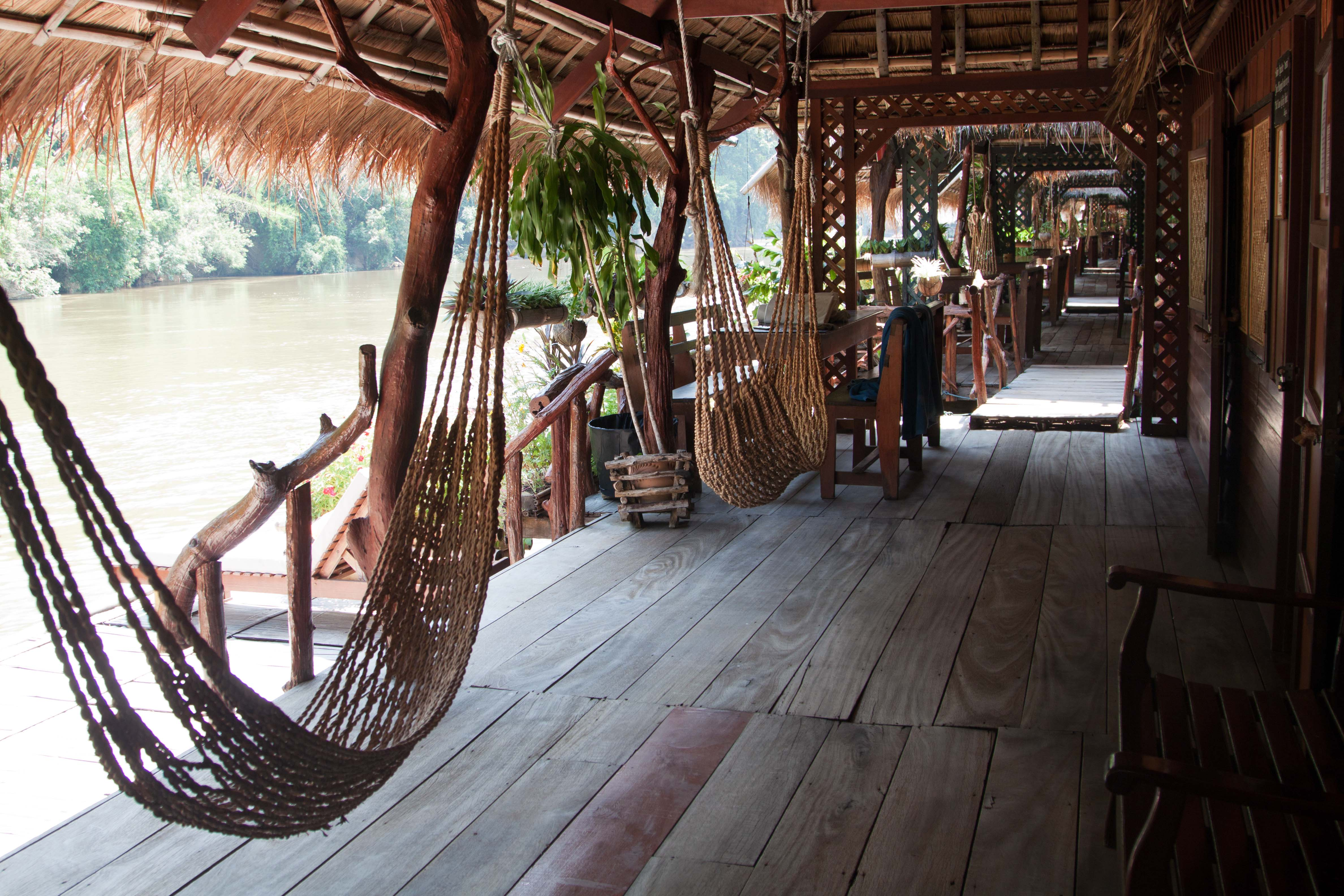 Kwai River Yok Nationalpark River Kwai Jungle Lodge Thailand